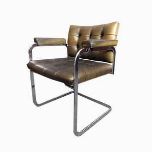 Leather RH305 Armchair by Robert Haussmann for de Sede, 1950s