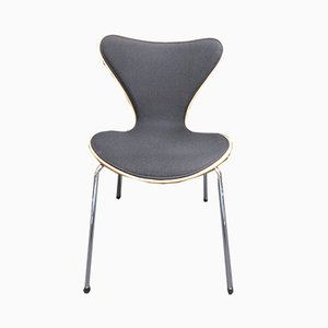 Fauteuils 3207 Vintage par Arne Jacobsen pour Fritz Hansen, Set de 6