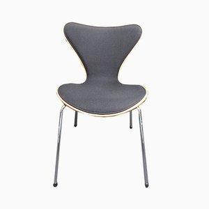 Vintage 3207 Stühle von Arne Jacobsen für Fritz Hansen, 6er Set