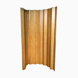 Swedish Pine Folding Screen, 1970s