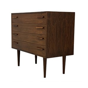 Mid-Century Palisander Chest of Drawers by Kai Kristiansen for Feldballes Møbelfabrik, 1960s