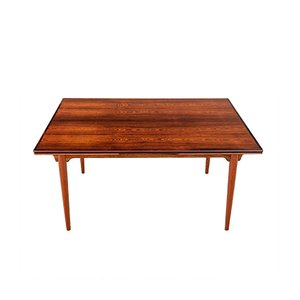 Model No. 54 Danish Rosewood Extendable Dining Table from Omann Jun, 1960s