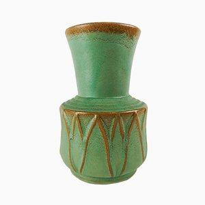 Jarrón de cerámica de Ewald Dahlskog para Bo Fajans, años 40