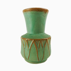 Vaso in ceramica di Ewald Dahlskog per Bo Fajans, anni '40