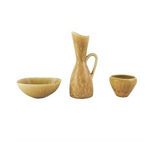 Juego de cerámicas de Carl-Harry Stålhane para Rörstrand, años 50