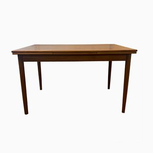 Mid-Century Danish Extendable Teak Dining Table from A.M Moblerfabrik