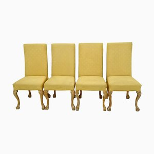 Vintage Italian Side Chairs, 1970s, Set of 4
