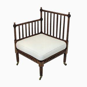 Chaise d'Angle Bobine Antique, 1820s