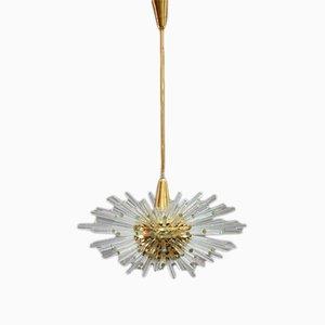 Lámpara de araña Miracle Sputnik grande de Bakalowits, años 60