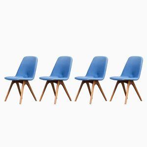Chaise de Salon de Van Os Culemborg, 1960sm Set de 4