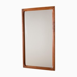 Specchio in teak di Kai Kristiansen per Aksel Kjersgaard, anni '60