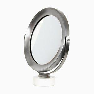 Specchio da tavolo girevole di Sergio Mazza, anni '60
