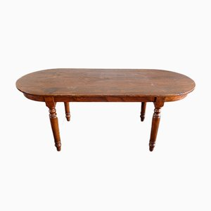 Vintage Fir Oval Table