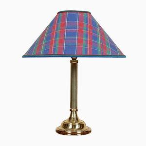Vintage Tartan Table Lamp