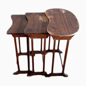 English Nesting Tables, 1930s