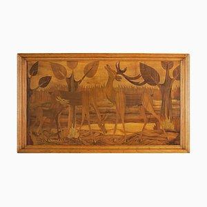 Panel decorativo Art Déco, años 30