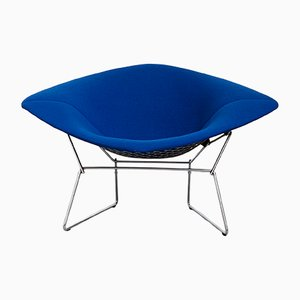 Large Model 422 Diamond Chair by Harry Bertoia for Knoll International, 1980s