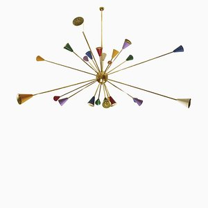 Sputnik Ceiling Lamp, 1960s