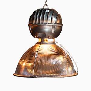Lampada vintage industriale di Holophane