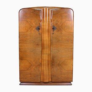 Armoire Art Déco en Noyer
