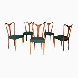 Sedie da pranzo di Guglielmo Urlich, anni '40, set di 6