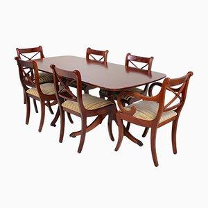 Vintage Mahogany Dining Set