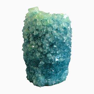 Vase Crystal Teal 2 par Isaac Monté, 2019