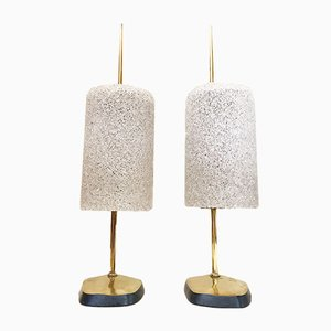 Vintage Lamps from Arlus, Set of 2