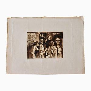 Incisione Short Series 3/10 di Ricardo Zomorano, anni '60