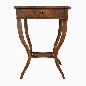Walnut Side Table, 1870s