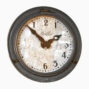Reloj industrial de Brillié, años 30