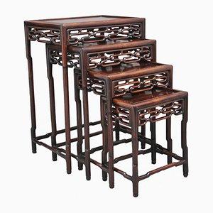 Tavolini a incastro, Cina, XIX secolo
