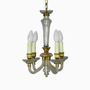 Murano Glass Chandelier, 1950s