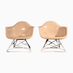 Butacas LAR de Charles & Ray Eames para Herman Miller, años 50. Juego de 2