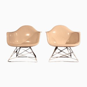 LAR Armchairs by Charles & Ray Eames for Herman Miller, 1950s, Set of 2