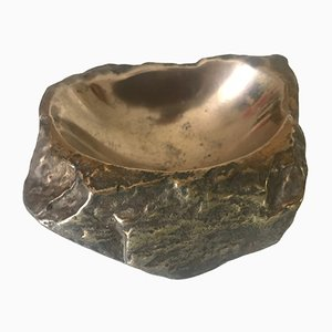 Bronze Model Rock Ashtray by Monique Gerber, 1970s