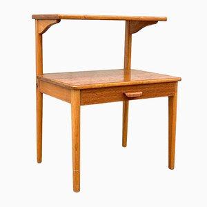 Dänischer Mid-Century Nachttisch aus Teak