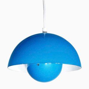 Lampe Flowerpot Vintage par Verner Panton pour Louis Poulsen