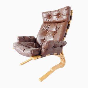 Kengu Sessel von Elsa & Nordahl Solheim für Rybo Rykken & Co, 1960er