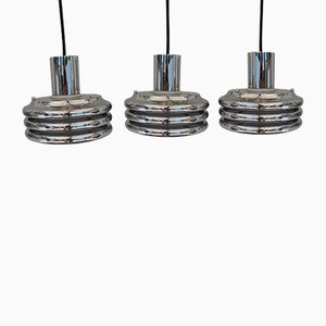 Space Age Ceiling Lamps by Kazuo Motozawa, 1970s, Set of 3