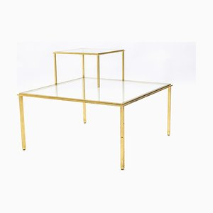 Wrought Iron Coffee Table by Robert Thibier, 1960s