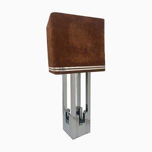 Lámpara grande de Willy Rizzo para Lumica, años 70