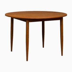 Mesa extensible danesa vintage de teca