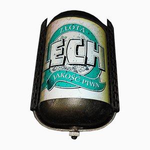 Lámpara publicitaria de Lech, años 80