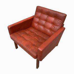 Leather Moduline Easy Chair by Ole Gjerløv & Torben Lind for France & Son