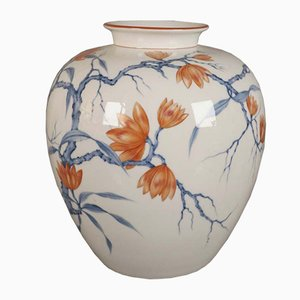 Art Nouveau Porcelain Vase by Röder for Rosentahl