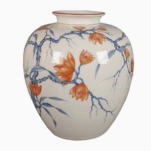 Jarrón modernista de porcelana de Röder para Rosentahl