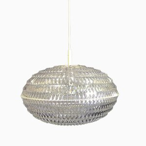 Diamond Pendant Light by Aloys Gangkofner for Erco, 1970s