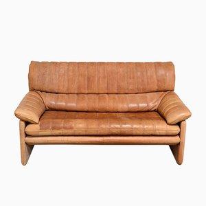 Canapé DS-86 Vintage en Cuir Cognac de de Sede