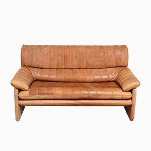 Vintage DS-86 Cognac Leather Sofa from de Sede